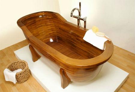 ванная на ножках