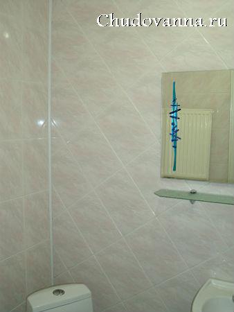 раскладка плитки на стенах ванной