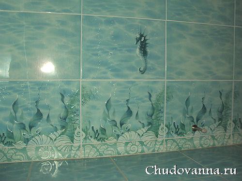 в ванную комнату фото с дельфинами
