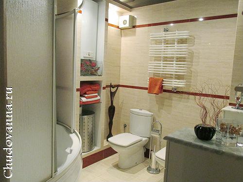 стильная современная ванная комната