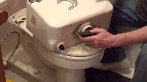 How To Stop Red Rings In The Toilet Bowl
