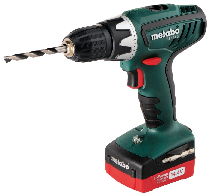 Metabo BS 14.4 Li 2.0Ah x 2 Case