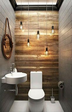 ванная комната в стиле лофт фото