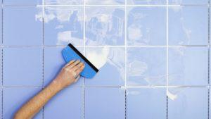 Виды затирки для ванной