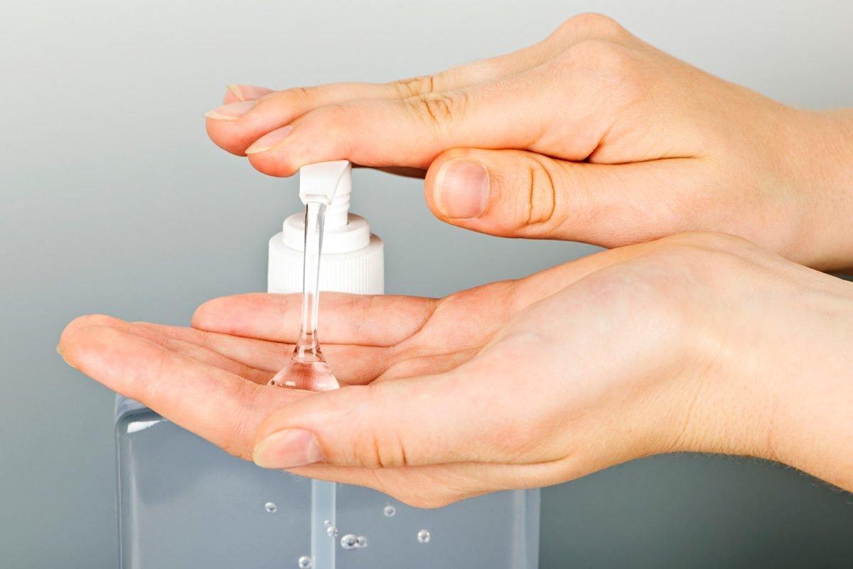 Жидкое дезинфицирующее мыло