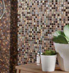 Плитка мозаика в интерьере квартиры
