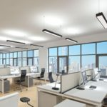 Светильники в офисе: организация освещения