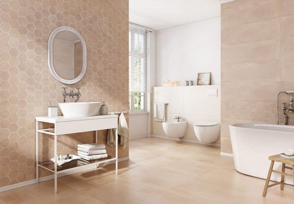Керамическая плитка для пола в ванной