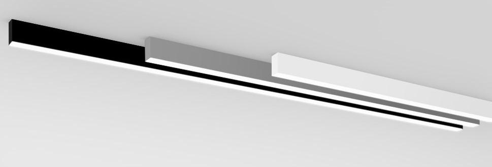 Профильный светильник накладной