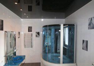 Натяжной потолок в ванной: рассчитать цену
