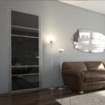 Где поставить стеклянные двери в квартире