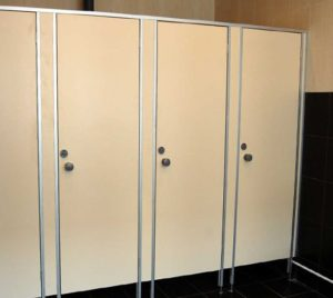 Сантехнические перегородки туалетные